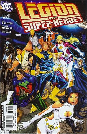 Legion of Super-Heroes (2005) 37-B