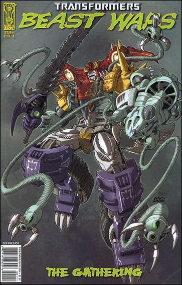 Transformers Beast Wars: The Gathering 1-A by IDW