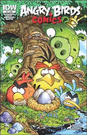 Angry Birds Comics 11-A