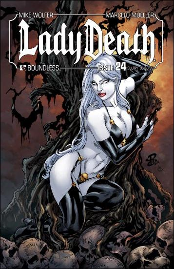 Lady Death (2010) 24-C by Boundless Comics