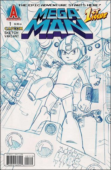Mega Man 1-B by Archie