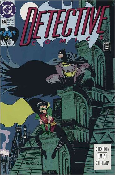 Detective Comics (1937) 649-A by DC