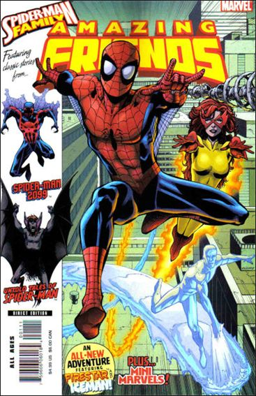 Spider-Man Family Featuring Spider-Man's Amazing Friends 1-A by Marvel