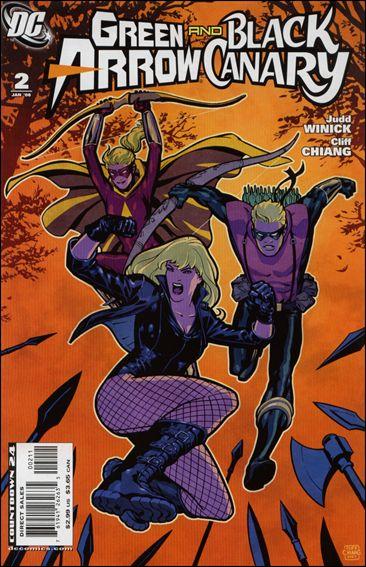 Green Arrow/Black Canary 2-A by DC