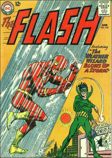 Flash (1959) 145-A by DC