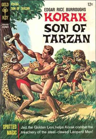 Korak, Son of Tarzan 15-A by DC