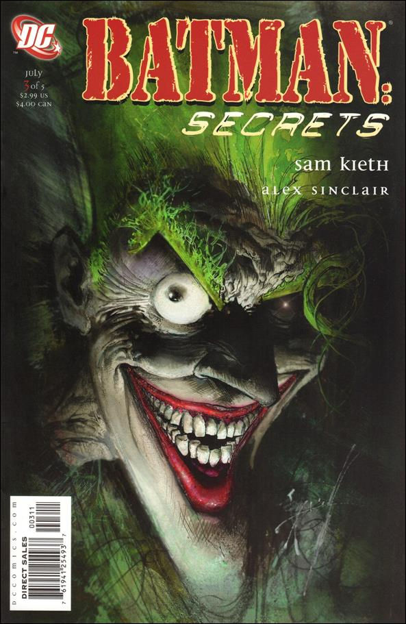 Batman: Secrets 3-A by DC