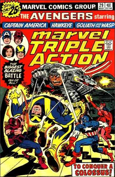 Marvel Triple Action (1972) 29-A by Marvel