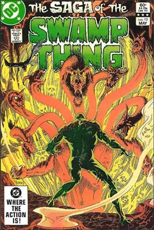 Saga of the Swamp Thing 13-A