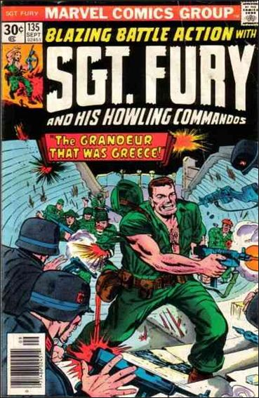 Sgt. Fury and His Howling Commandos 135-A by Marvel