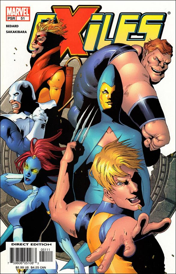 Exiles (2001) 51-A by Marvel