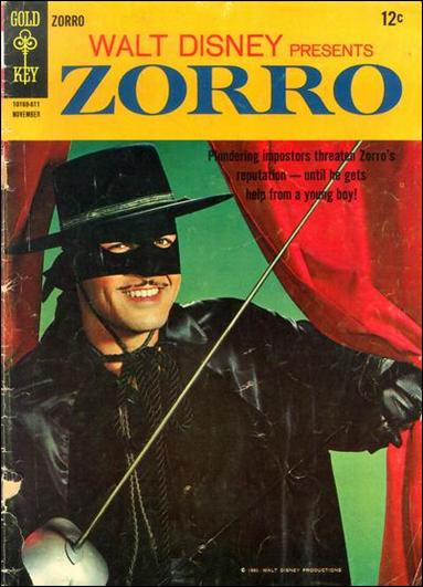 Walt Disney Presents Zorro 4-A by Gold Key