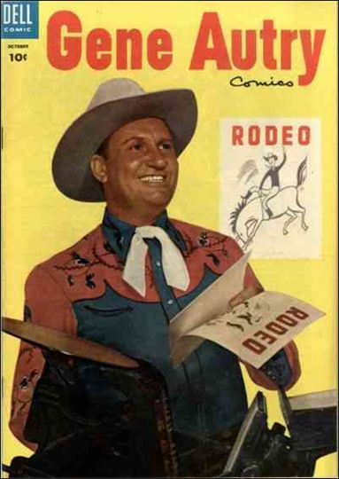 Gene Autry Comics (1946) 92-A by Dell