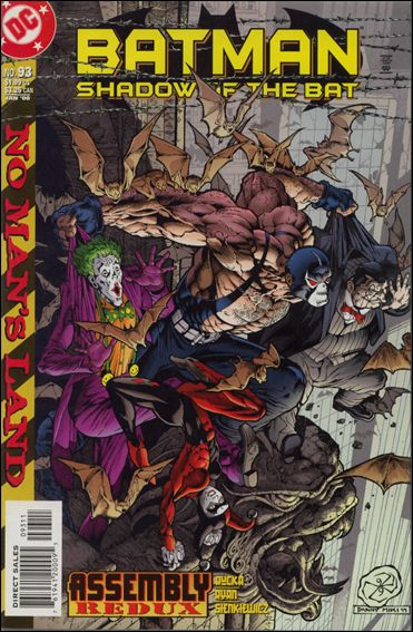 Batman: Shadow of the Bat 93-A by DC
