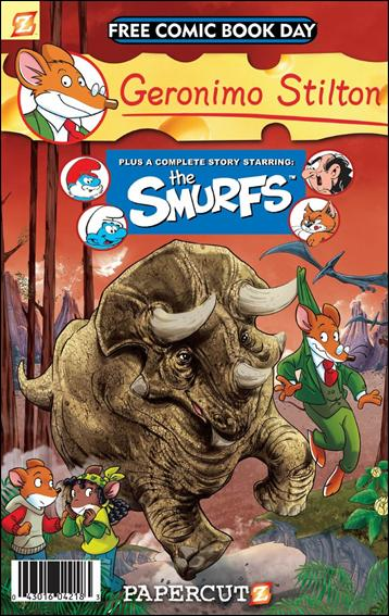 Geronimo Stilton and the Smurfs nn-A by Papercutz
