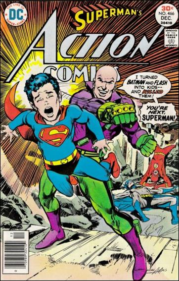 Action Comics (1938) 466-A by DC