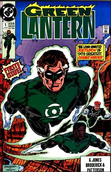 Green Lantern (1990) 1-A by DC
