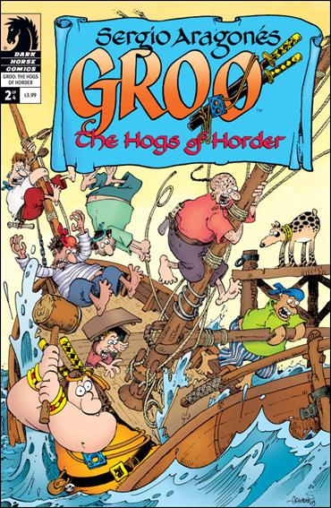Sergio Aragones' Groo: The Hogs of Horder 2-A by Dark Horse