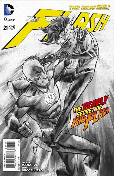 Flash (2011) 21-B by DC