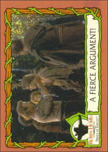 Robin Hood, Prince of Thieves (Base Set) 26-A by Topps