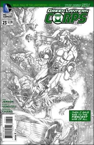 Green Lantern Corps (2011) 23-B by DC