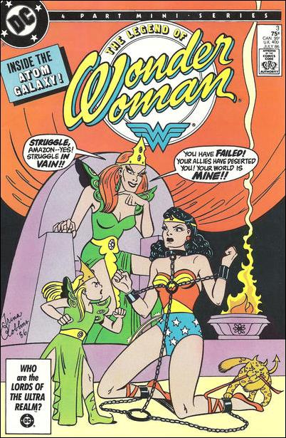 Legend of Wonder Woman (1986) 3-A by DC