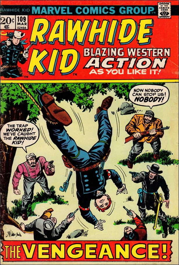 Rawhide Kid (1955) 109-A by Marvel