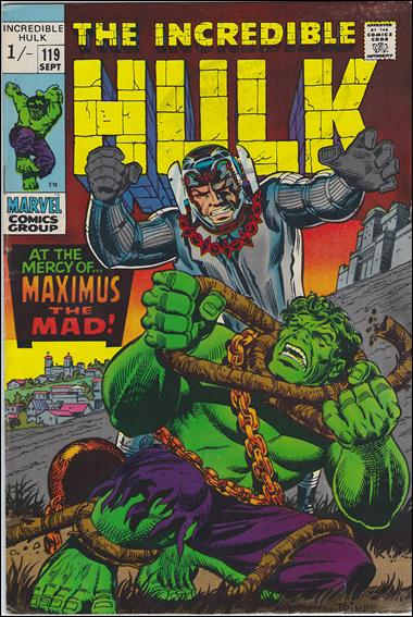Incredible Hulk (1968) 119-B by Marvel