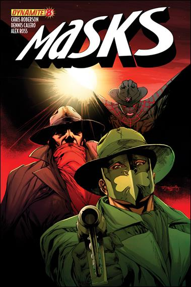 Masks 8-D by Dynamite Entertainment