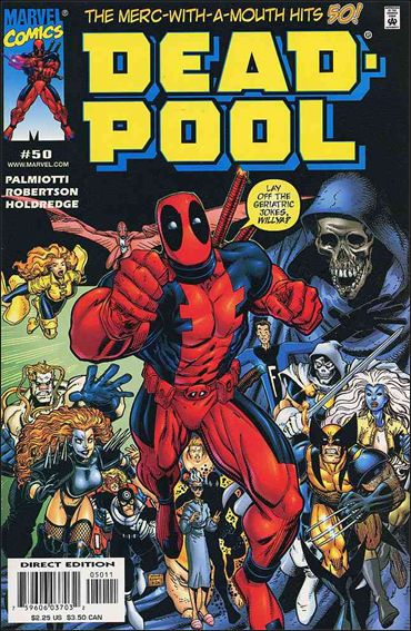 Deadpool (1997) 50-A by Marvel