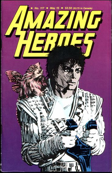 Amazing Heroes 117-A by Fantagraphics