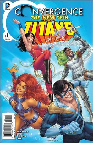 Convergence New Teen Titans 1-A