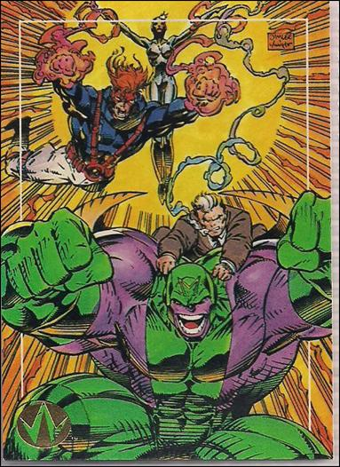 WildC.A.T.s: Set 1 (Base Set) 25-A by Topps