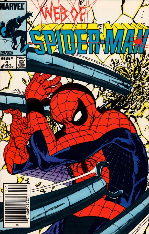 Web of Spider-Man (1985) 4-A by Marvel