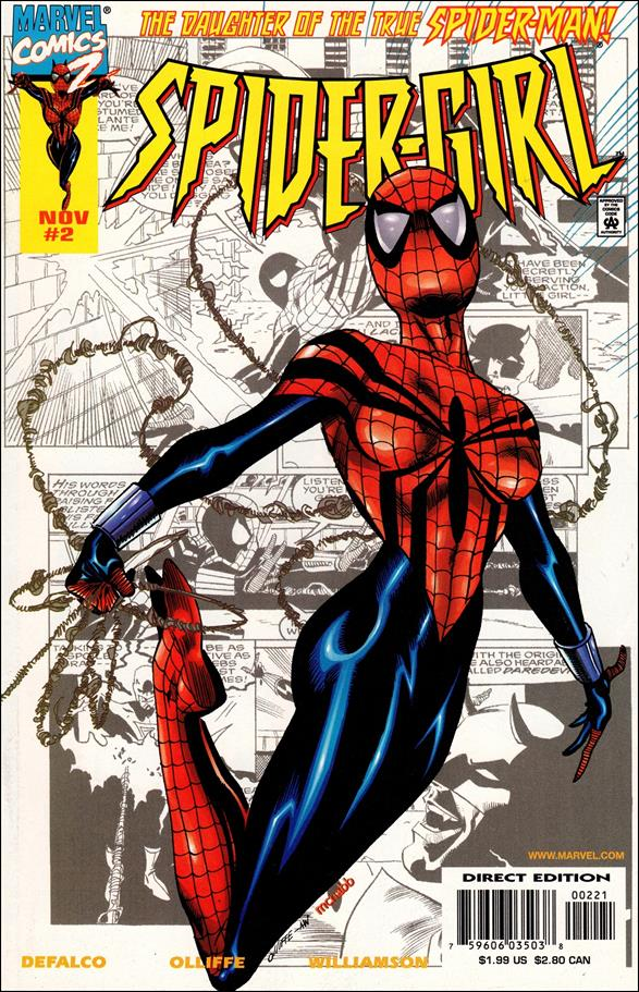 Spider-Girl (1998) 2-B by Marvel