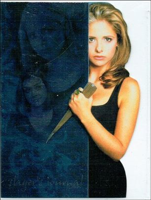 Buffy the Vampire Slayer Reflections: The High School Years (Slayer's Journal Die-Cut Subset) J-5-A