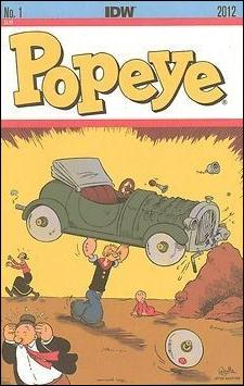 Popeye (2012) 1-D by IDW