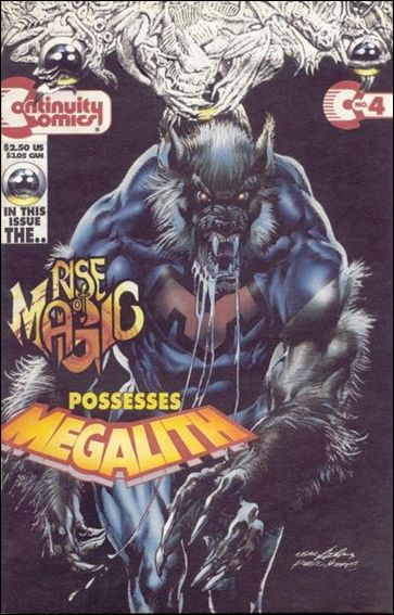 Megalith (1993) 4-A by Continuity Comics