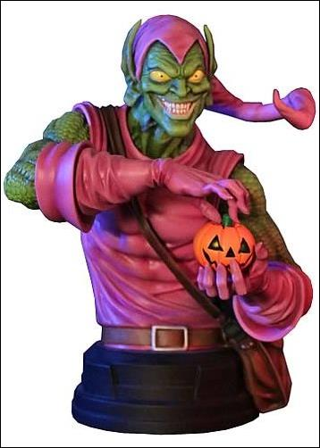 Marvel Mini-Busts (Gentle Giant) Green Goblin 1/500 by Gentle Giant