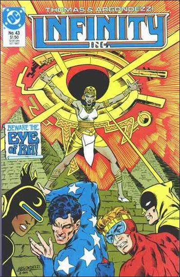 Infinity Inc. (1984) 43-A by DC