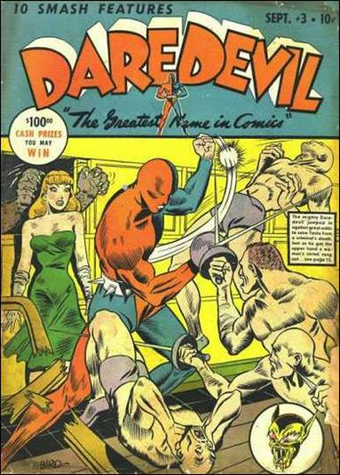 Daredevil (1941) 3-A by Lev Gleason Productions
