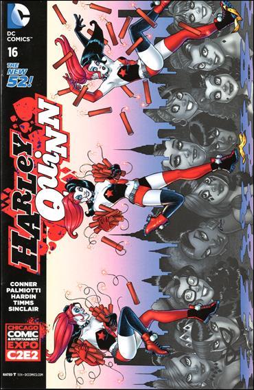 Harley Quinn (2014) 16-F by DC