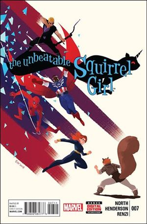 Unbeatable Squirrel Girl 7-A