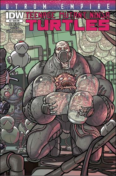 Teenage Mutant Ninja Turtles Utrom Empire 3-B by IDW