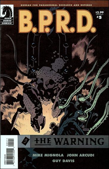 B.P.R.D.: The Warning 5-A by Dark Horse