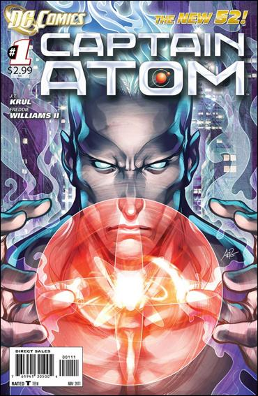 Captain Atom (2011) 1-A by DC
