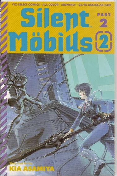 Silent Möbius Part 2 2-A by Viz