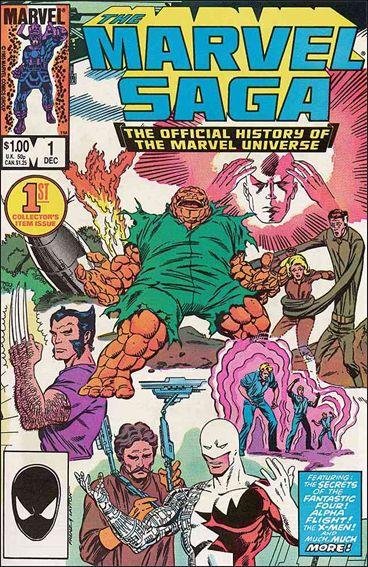 Marvel Saga 1-A by Marvel