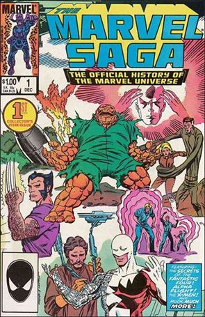 Marvel Saga 1-A