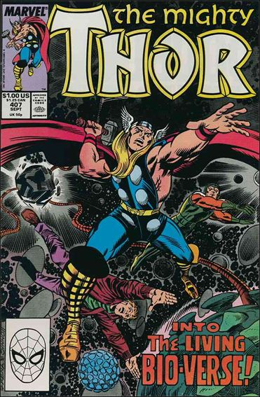 Thor (1966) 407-A by Marvel